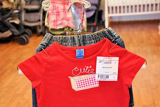 Twice as Nice Kids Consignment - Tagging - Notice